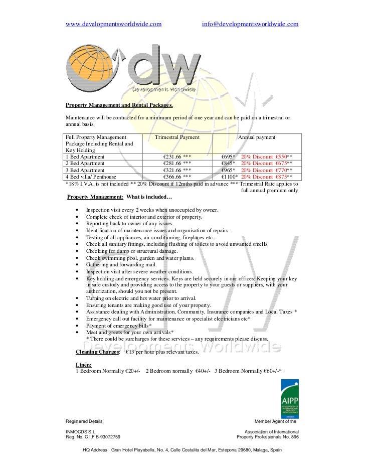 www.developmentsworldwide.com                                     info@developmentsworldwide.comProperty Management and Re...