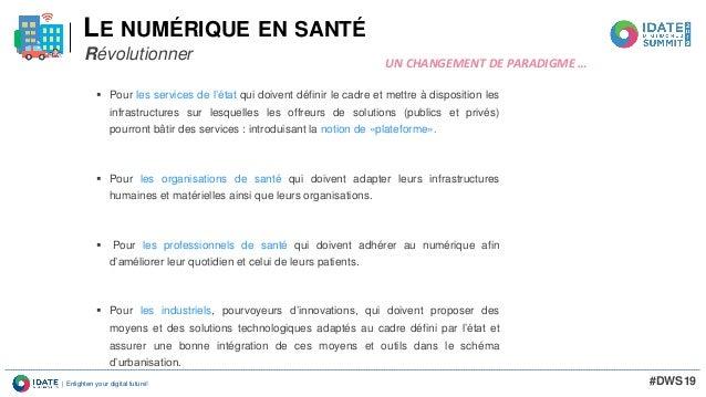 DWS19 Seminaire Healthcare William Rolland SNITEM Slide 3
