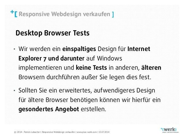 Responsive Web Design Verkaufen Developer Week Dwx 2014