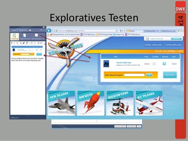 Exploratives Testen #dwx14