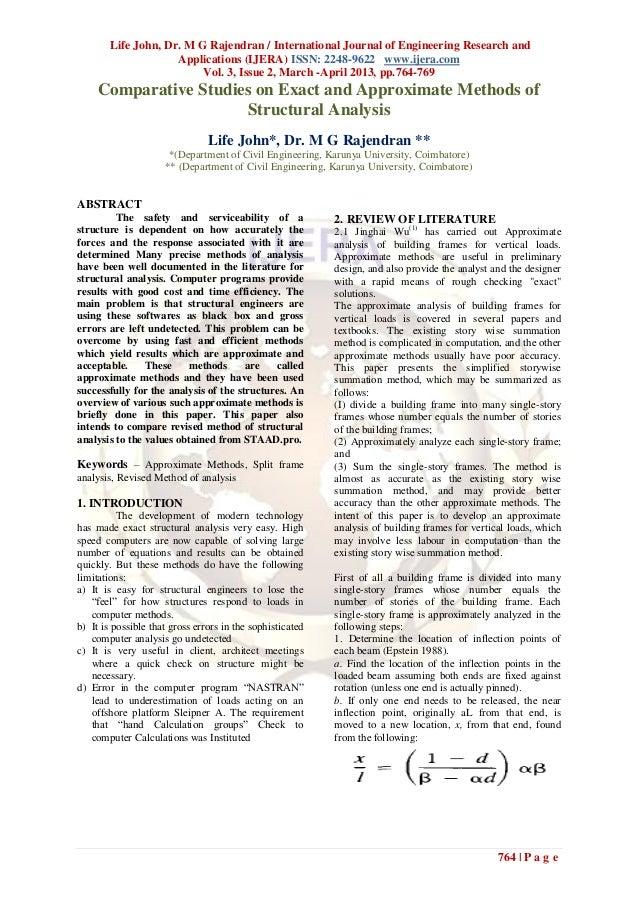 Life John, Dr. M G Rajendran / International Journal of Engineering Research and                     Applications (IJERA) ...