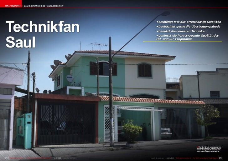 DXer REPORT                   Saul Spinetti in São Paulo, BrasilienTechnikfan                                             ...