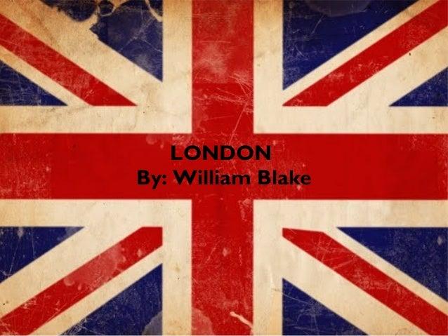london william blake tone
