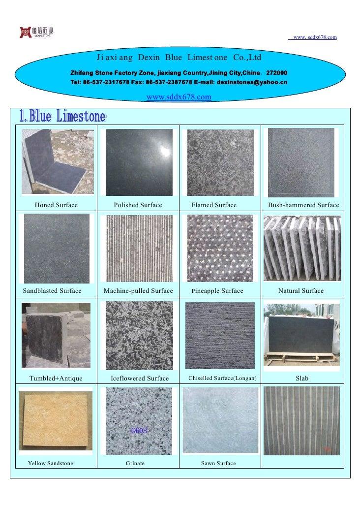 www..sddx678.com                           Ji axi ang Dexin Blue Limest one Co.,Ltd                 Zhifang Stone Factory ...