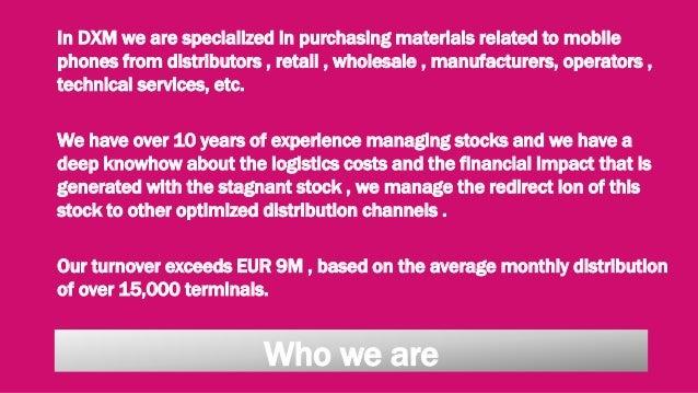 Dxm Services Presentation Slide 3