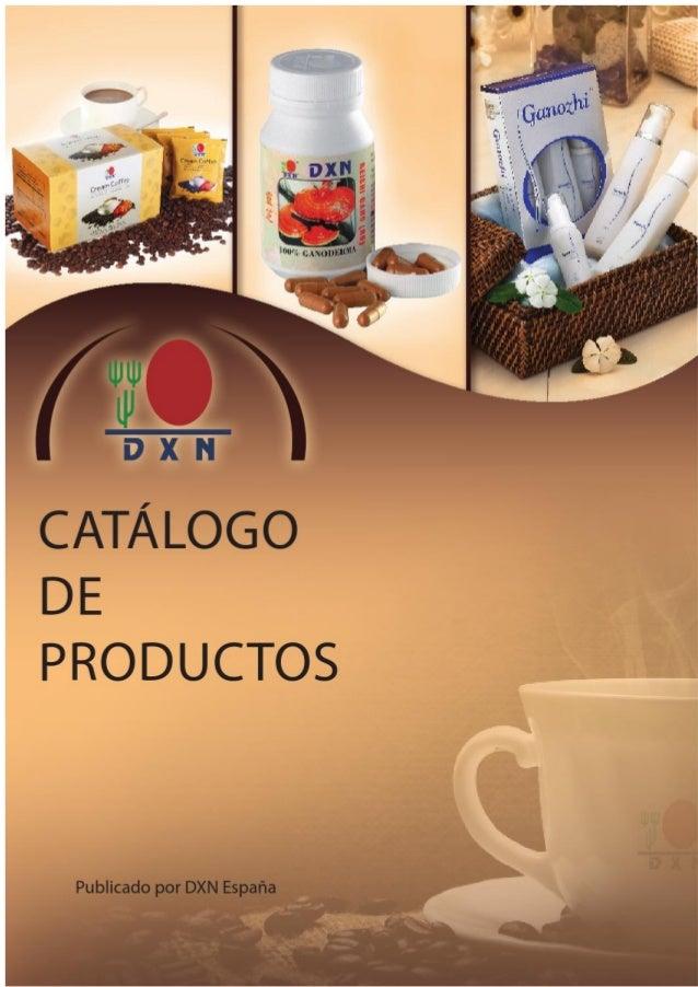 Catálogo DXN - España