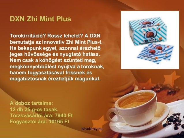 DXN Zhi Mint Plus Torokirritáció? Rossz lehelet? A DXN bemutatja az innovatív Zhi Mint Plus-t. Ha bekapunk egyet, azonnal ...