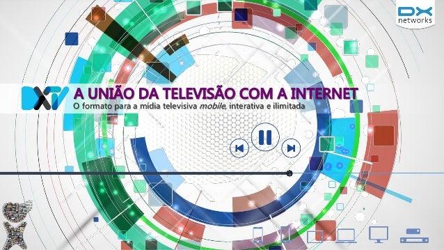 O formato para a mídia televisiva mobile, interativa e ilimitada