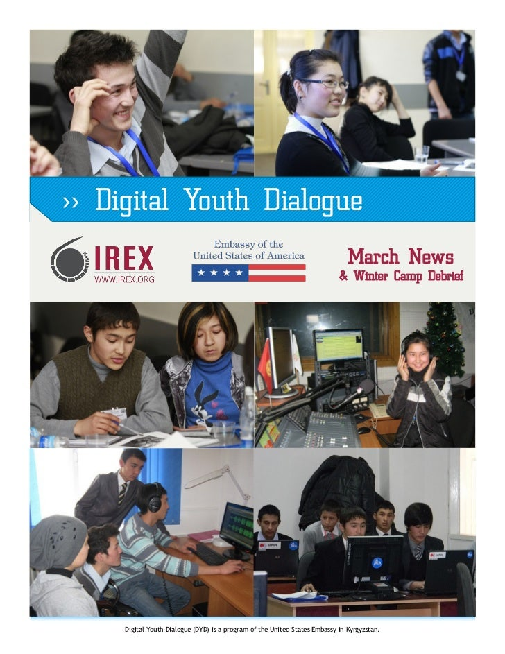 >> Digital Youth Dialogue                                                                               March News        ...