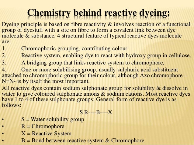 Dyeing Of Cotton With Reactive Dye
