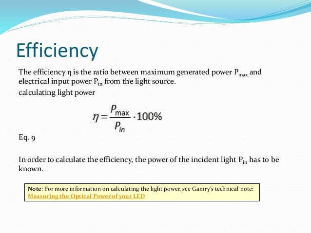 How to Calculate Energy Savings Generated by Use of Leds