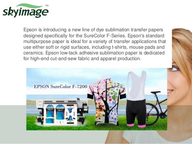 Dye sublimation media(epson printer &