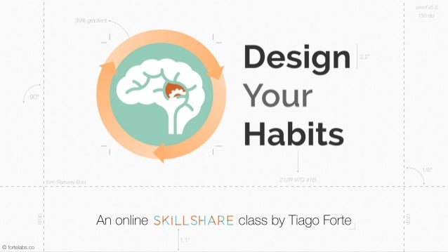 Welcome to Design Your Habits, an online class on Skillshare. My name is Tiago  Forte and I will be your guide.