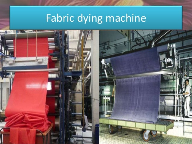 Sample dying machine
