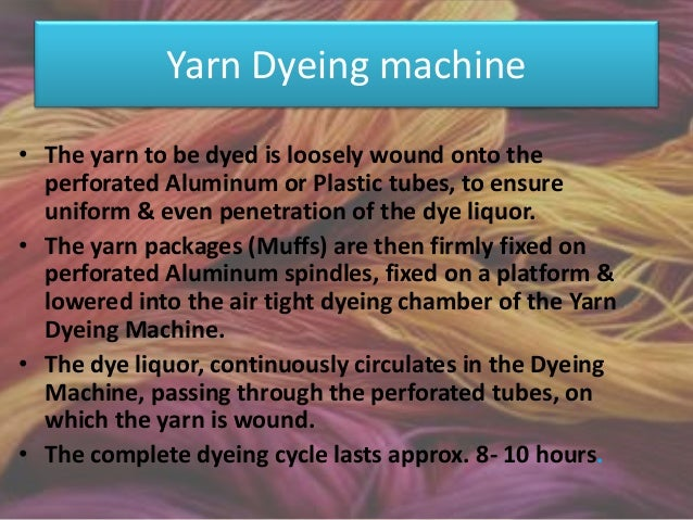 Knit dyeing machine – Jet dying The Jet Dyeing Machine offers the following striking advantages that makes them suitable f...
