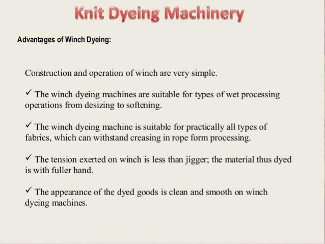 Dying machine