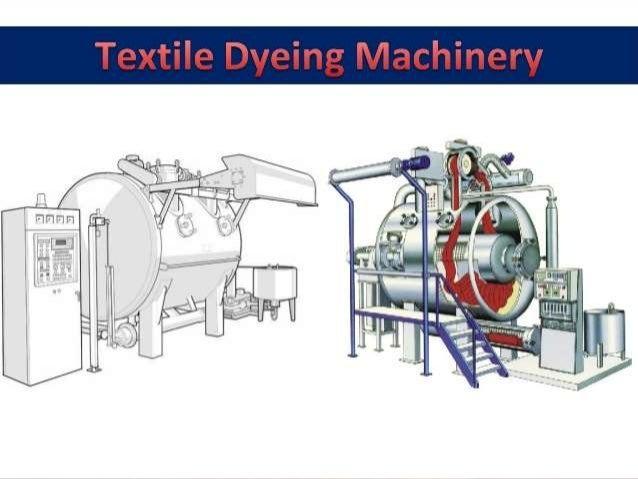 Fabric dying machine