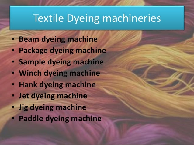 Advantages of a Beam Dyeing Machine • The fabric is put under controlled tension, and is wound on to a perforated beam. Th...