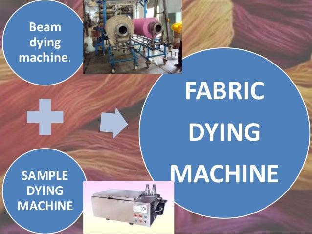 Beam dying machine