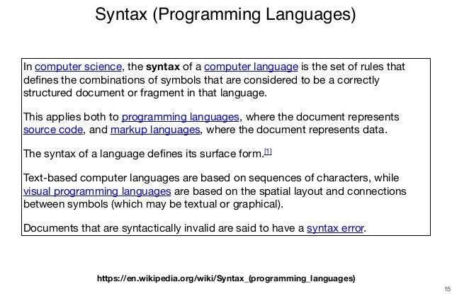 Declare Your Language: Syntax Definition