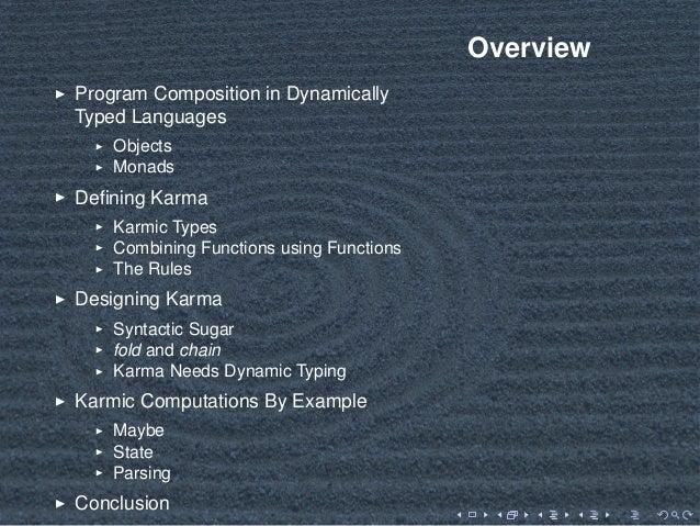 List-based Monadic Computations for Dynamic Languages Slide 2