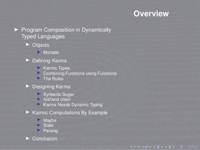 List-based Monadic Computations for Dynamically Typed Languages (Python version) Slide 2