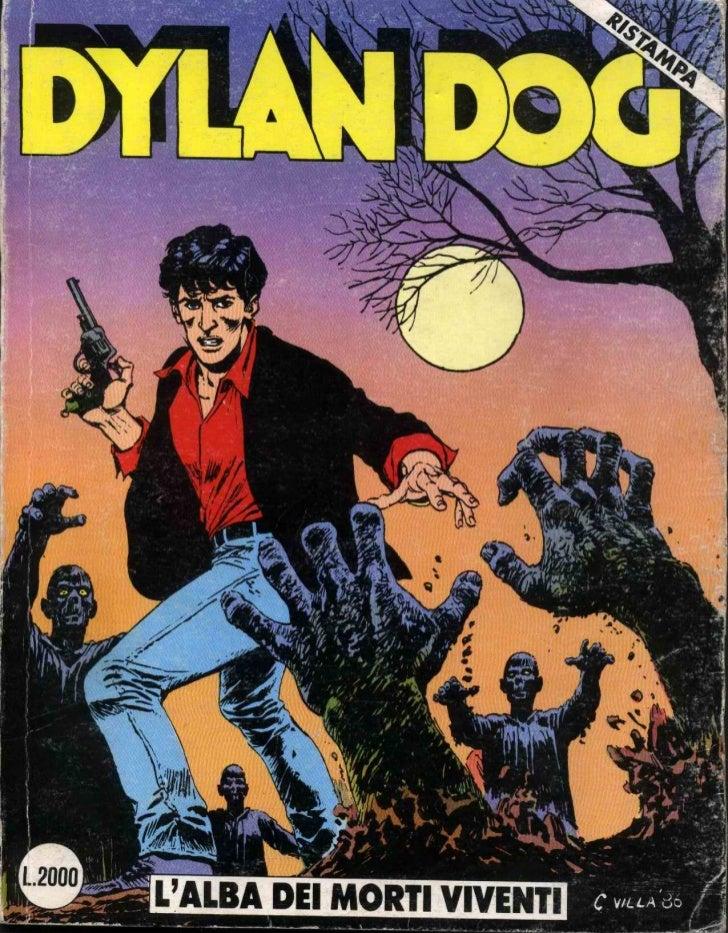 Dylan dog   001 - l'alba dei morti viventi
