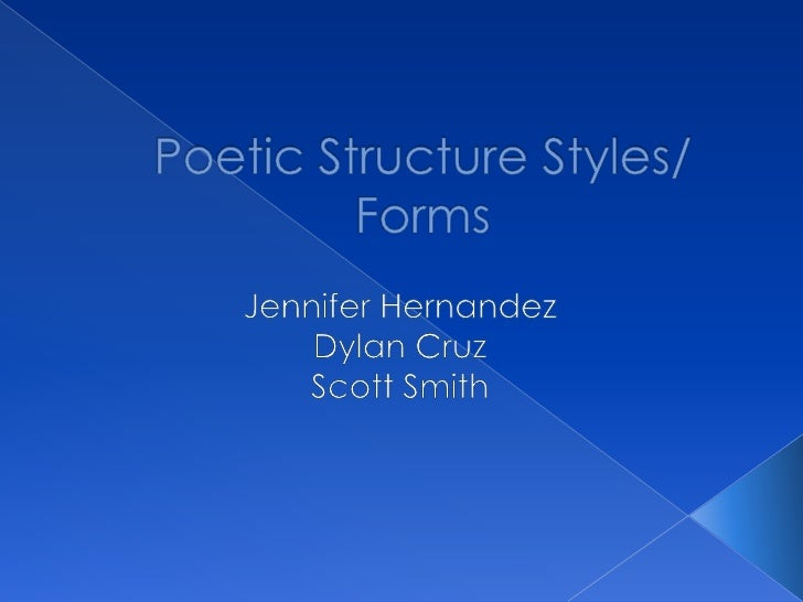 Poem that contains a series of events using poeticdevices such as rhythm, rhyme, compact language, and sound.› Rhythm: ref...