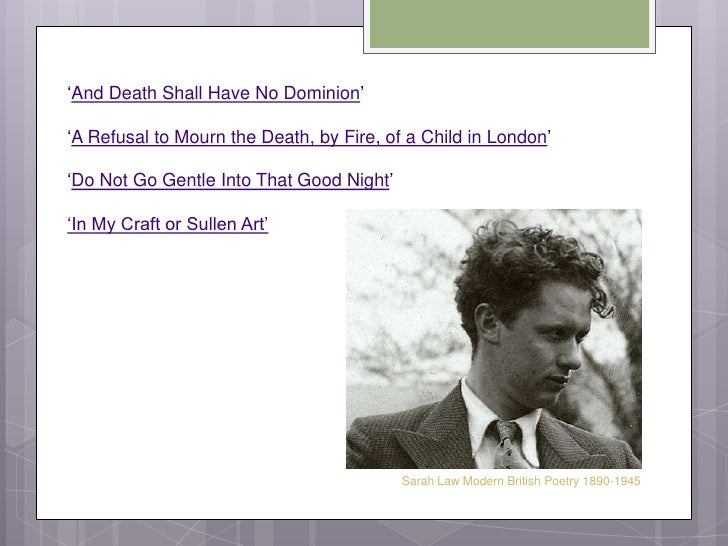 a refusal to mourn the death by fire of a child in london year