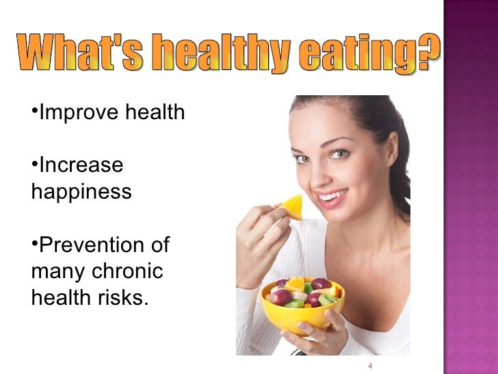 presentation on healthy eating