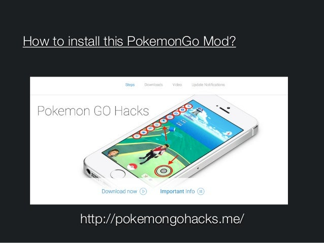 How to install this PokemonGo Mod? http://pokemongohacks.me/