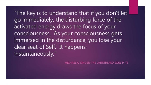 Quotes From The Untethered Soul By Michael Singer