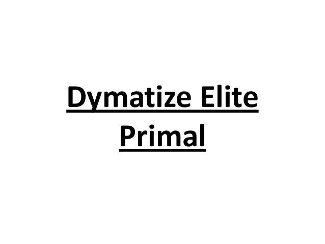 Dymatize Elite Primal
