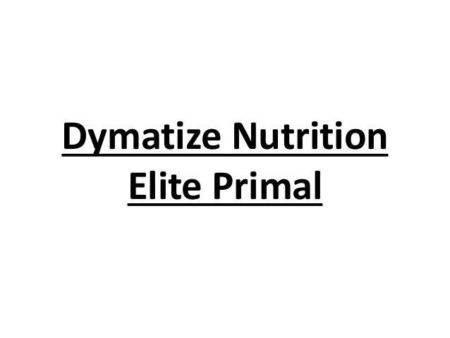 Dymatize Nutrition Elite Primal