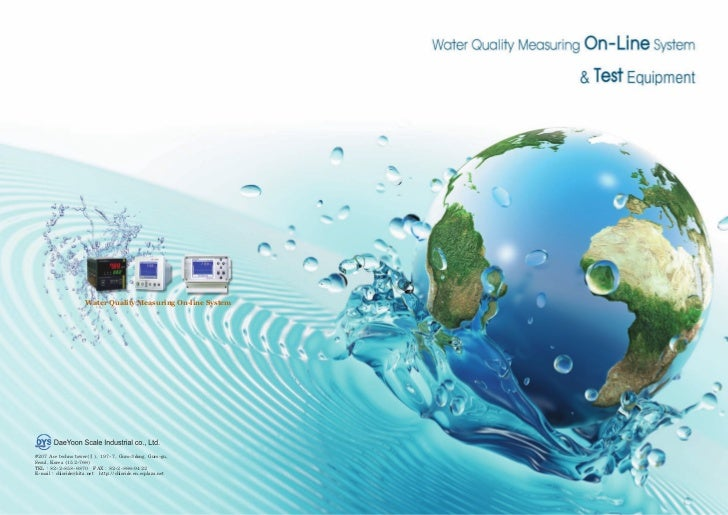 Water Quality Measuring On-line System#207 Ace techno tower(Ⅱ), 197-7, Guro-3dong, Guro-gu,Seoul, Korea (152-766)TEL : 82-...