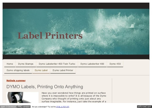 Dymo label printers_jimdo_com_dymo_label