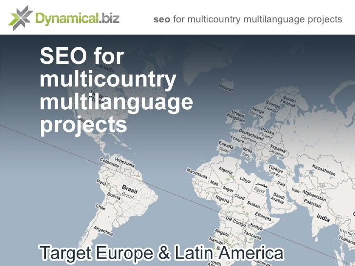seo for multicountry multilanguage projects
