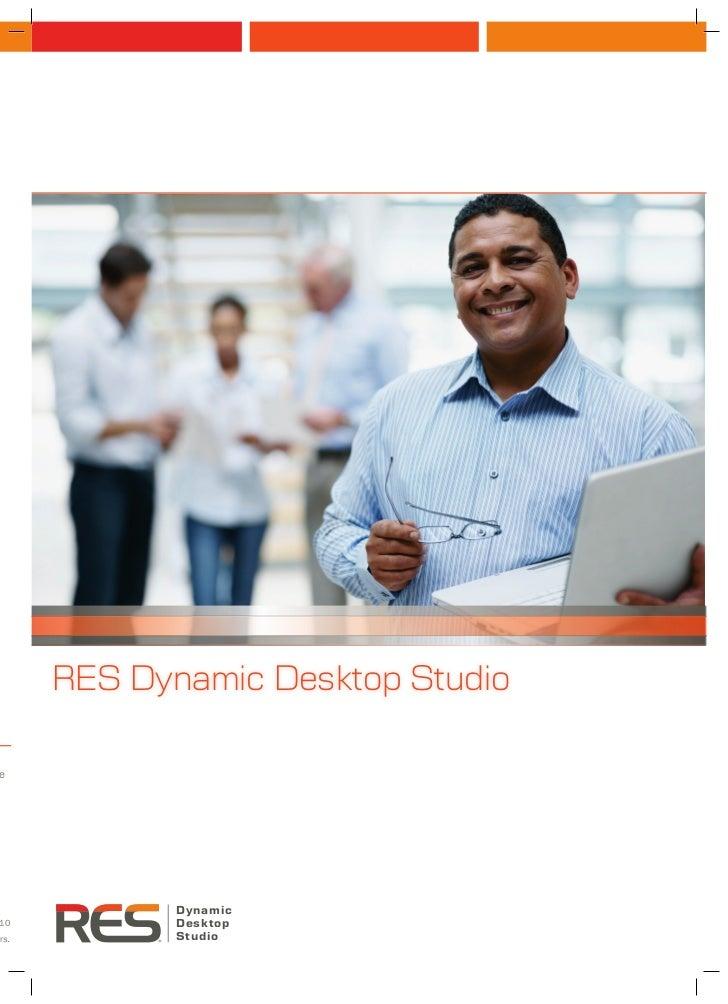 RES Dynamic Desktop Studioenn             Dynamic10           Desktoprs.          Studio
