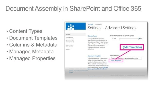 dynamic document generation for sharepoint office 365 With online document assembly