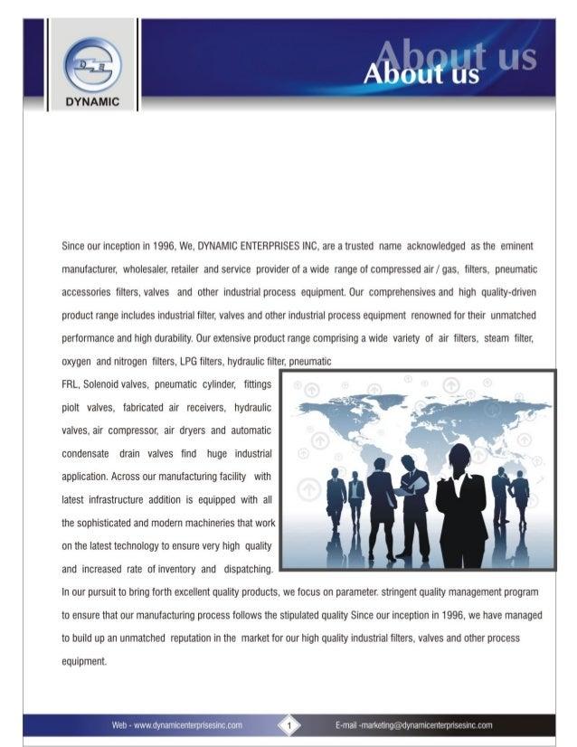 Dynamic Enterprises Inc., Pune, Air Filters & Separators