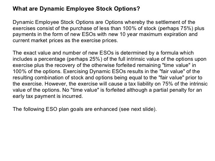 Employee stock options vs. restricted stock