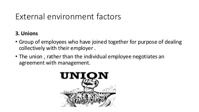 external environmental pressure affecting human resource management To develop and implement effective human resource strategies, you must first understand the environment context in which human resource operates the external environmental factors ie the step factors outlined below can have both positive and negative effects on this business.