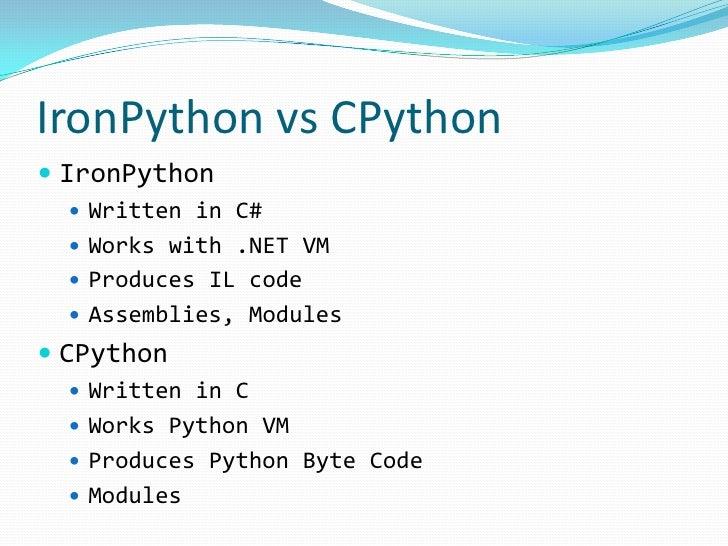Dynamic languages for  NET CLR