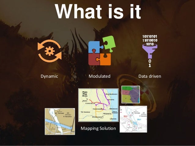 Spatial Australia Dynamic Mapping - Data driven mapping