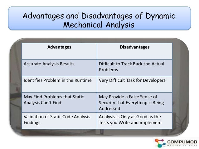 analyzing advantages and disadvantages of the Force field analysis is a technique that allows you to examine all the various forces in play for and against a decision that needs to be made somewhat different from the process of listing pros and cons, force field analysis allows you to develop decision-making strategies in terms of strengthening the forces in .