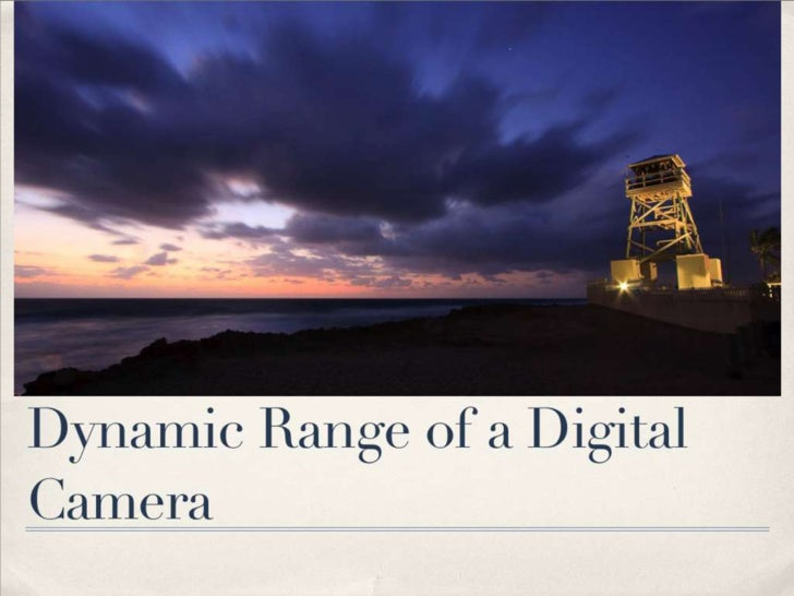 Dynamic Range Presentation By Aakash Rodrigues