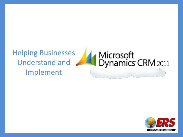 Helping Businesses Understand and Implement <br />