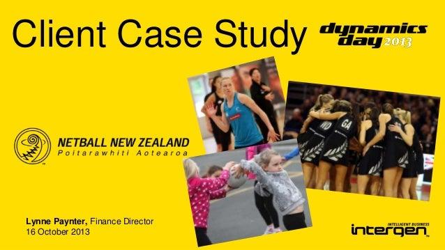 Client Case Study  Lynne Paynter, Finance Director 16 October 2013