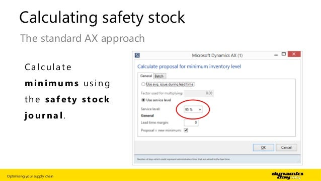 how to calculate safety stock - Template