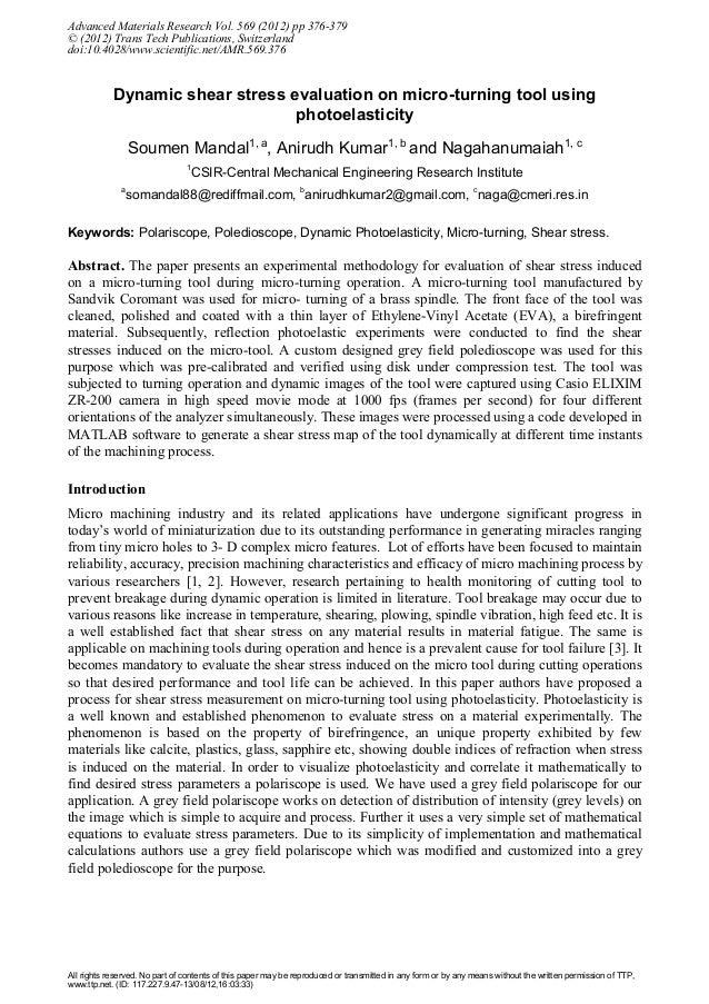 Advanced Materials Research Vol. 569 (2012) pp 376-379© (2012) Trans Tech Publications, Switzerlanddoi:10.4028/www.scienti...